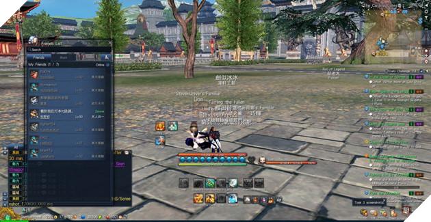 BnS: Giới thiêu giao diện game cơ bản dành cho tân thủ 7