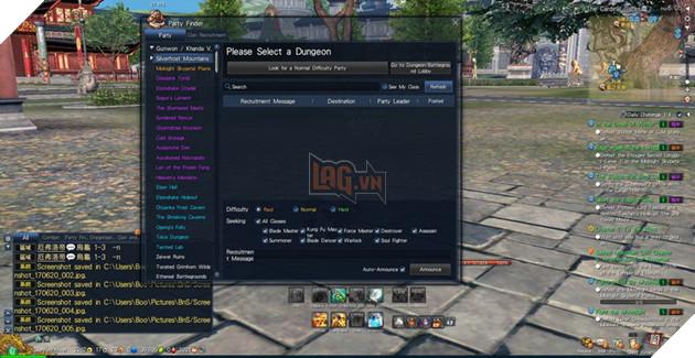 BnS: Giới thiêu giao diện game cơ bản dành cho tân thủ 10