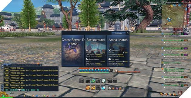 BnS: Giới thiêu giao diện game cơ bản dành cho tân thủ 11