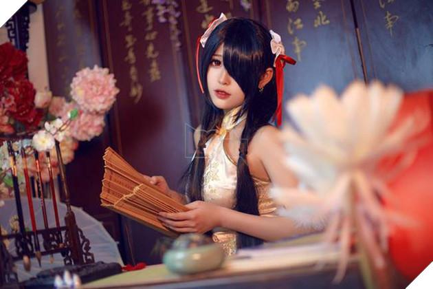 Nóng mắt với bộ ảnh cosplay về cô nàng Tokisaki Kurumi trong Date A Live