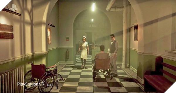 The Inpatient lấy bối cảnh bệnh viện Blackwood Sanatorium 60 năm trước Until Dawn