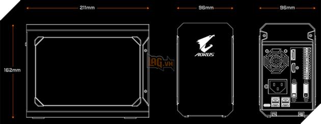 Gigabyte ra mắt eGPU AORUS GTX 1070 Gaming Box - cắm vào là dùng ngay. 3