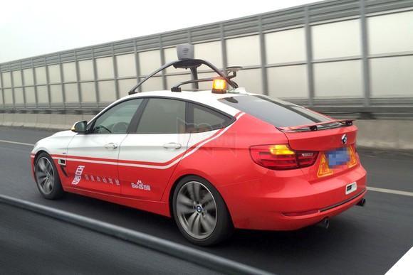 Một mẫu xe tự lái của Baidu. Nguồn ảnh: Baidu.