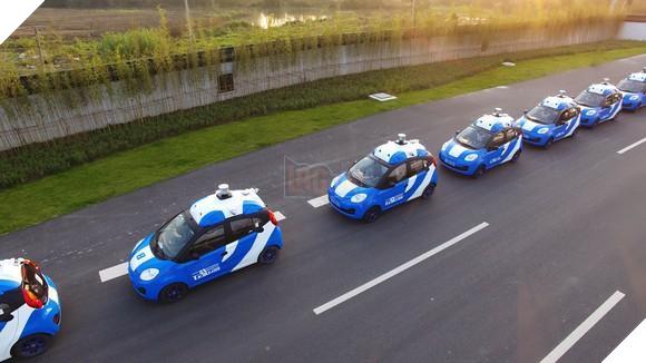 Baidu thử nghiệm xe tự lái ở trung Quốc. Nguồn ảnh: Baidu