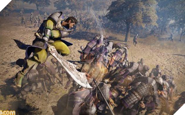 Hình ảnh trong Dynasty Warriors 9