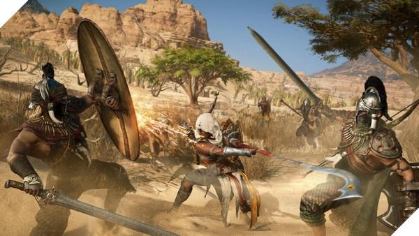 Assassin's Creed: Origins là tựa game được nhắc đến nhiều nhất E3 2017