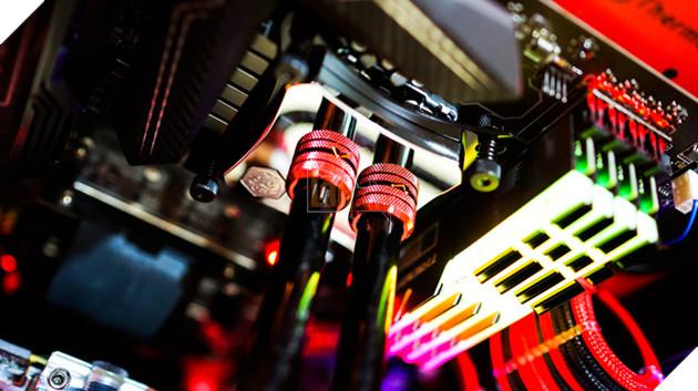 Bộ máy tính độ theo siêu xe Mustang cực chất, đảm bảo game thủ nhìn thấy là thích mê