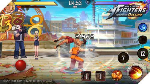 The King of Fighters: Destiny - Bản di động của series tượng đài đối kháng nổi tiếng