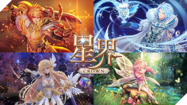 Astral Crown - MMORPG phong cách Anime chiến đấu cực ấn tượng