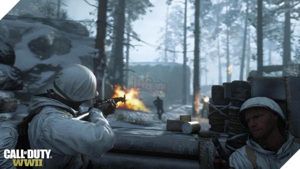 Chế độ War trong Call of Duty: WWII sẽ có nhiều hoạt động đa dạng hơn