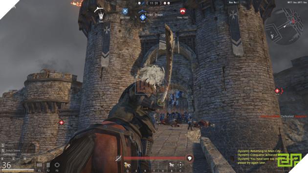 Siêu phẩm game công thành chiến Conqueror's Blade sắp ra mắt bản tiếng Anh, game thủ Việt sắp có cơ hội chơi dễ dàng