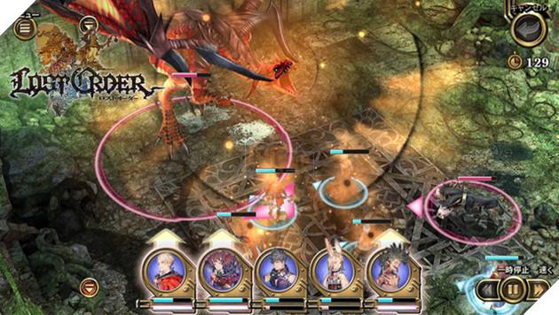 Lost Order - Tuyệt phẩm JRPG 3D đậm chất chiến thuật tổ đội cho Mobile