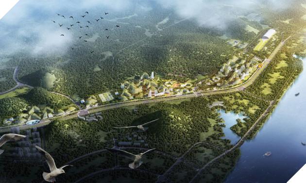 """Trung Quốc chính thức khởi công xây dựng """"Thành phố Rừng"""" đầu tiên trên thế giới"""