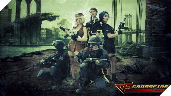 Nhóm cosplay nổi tiếng sài thành Chính thức ra mắt bộ ảnh Cosplay Crossfire Legends 2