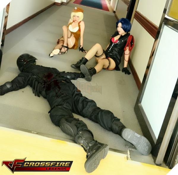 Nhóm cosplay nổi tiếng sài thành Chính thức ra mắt bộ ảnh Cosplay Crossfire Legends 8