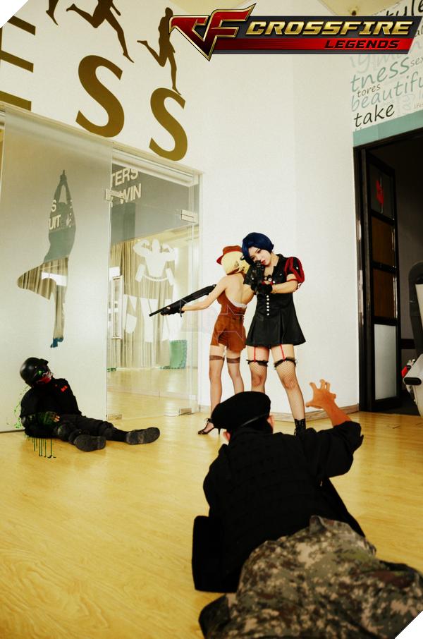 Nhóm cosplay nổi tiếng sài thành Chính thức ra mắt bộ ảnh Cosplay Crossfire Legends 16