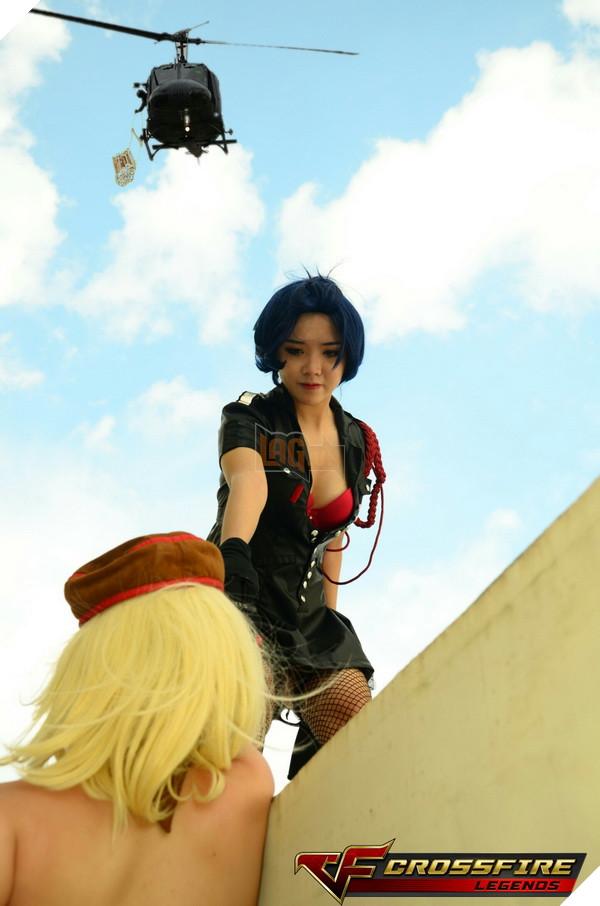 Nhóm cosplay nổi tiếng sài thành Chính thức ra mắt bộ ảnh Cosplay Crossfire Legends 24