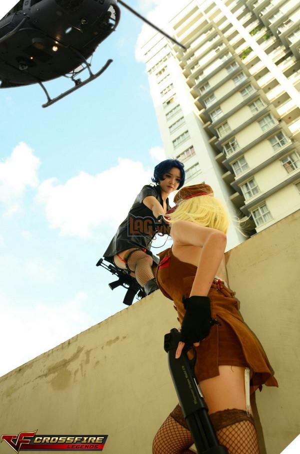 Nhóm cosplay nổi tiếng sài thành Chính thức ra mắt bộ ảnh Cosplay Crossfire Legends 25