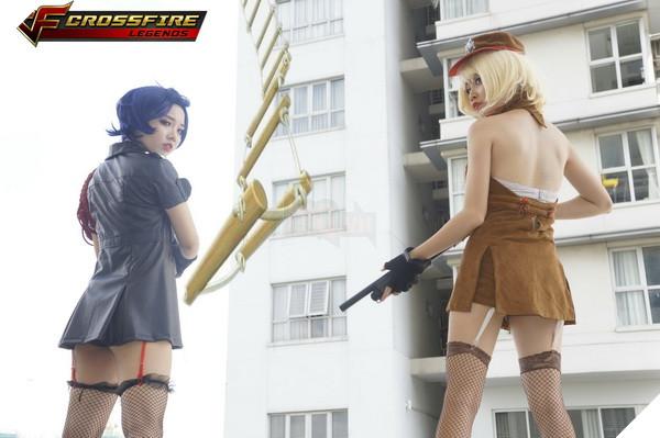 Nhóm cosplay nổi tiếng sài thành Chính thức ra mắt bộ ảnh Cosplay Crossfire Legends 27