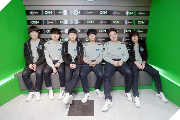 Đội hình Longzhu tại giải mùa xuân 2017