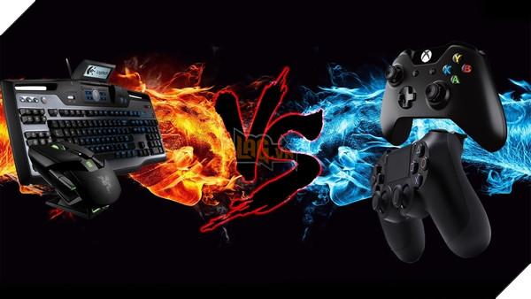 Người dùng tay cầm có thể lựa chọn đối đầu người dùng PC với tính năng chơi chéo ... hoặc không