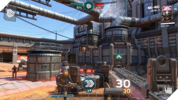 "Modern Combat Versus - ""Overwatch Mobile"" của Gameloft tiếp tục ra mắt trên Android"
