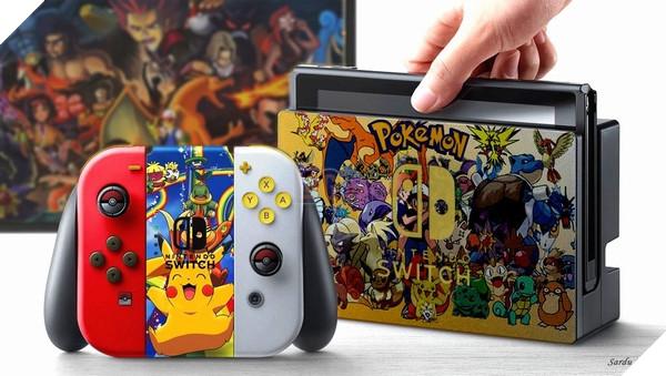 Máy Nintendo Switch cũng từng được mod vỏ theo chủ đề Pokemon