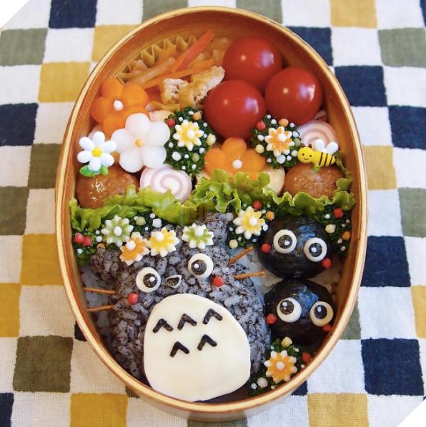 Những hộp cơm đẹp như tranh vẽ của bà nội trợ không hổ danh vợ Nhật - Ảnh 7.