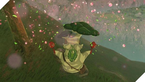 The Koroks vốn từ game Wind Waker, trong một dòng thời gian khác
