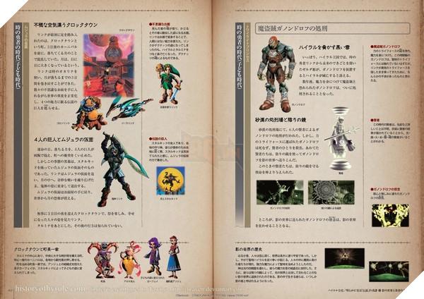 Hyrule Historia - Quyển sách tổng hợp mọi thứ về seri The Legend of Zelda