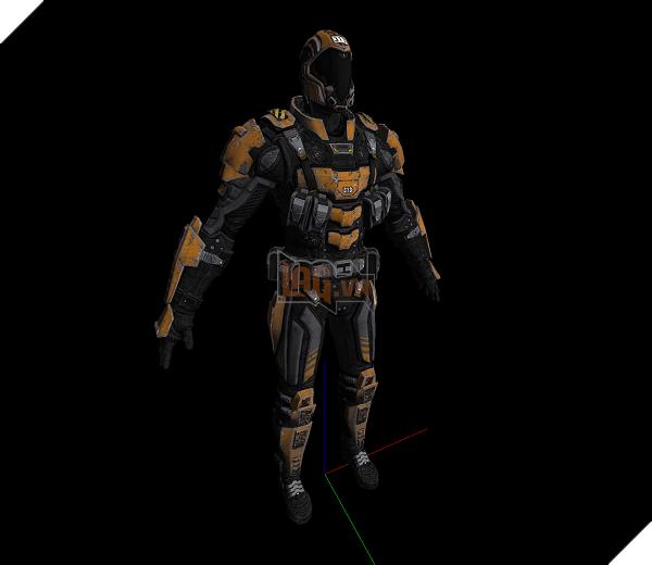 Bộ trang phục phi hành gia được trang bị giáp ... tận răng