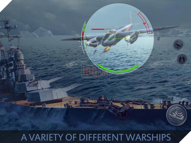 Fleet Glory - Game hải chiến cực khủng được ví như World of Warships