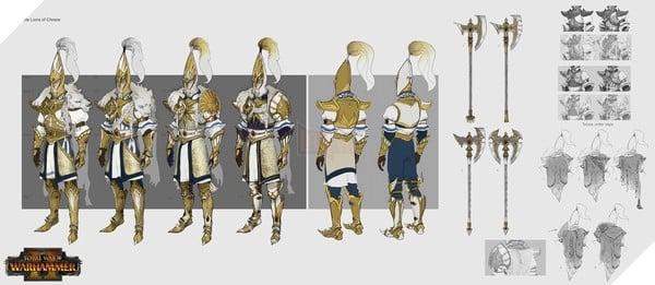 Hình ảnh phác thảo quân đội của High Elves