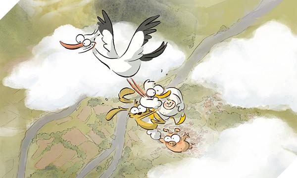 'The Big Bad Fox & Other Tales': Sẽ ra sao khi con cáo làm mẹ... con gà? bigbadfox c