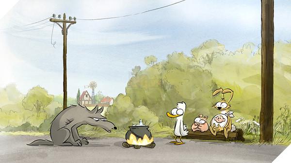 'The Big Bad Fox & Other Tales': Sẽ ra sao khi con cáo làm mẹ... con gà? bigbadfox d