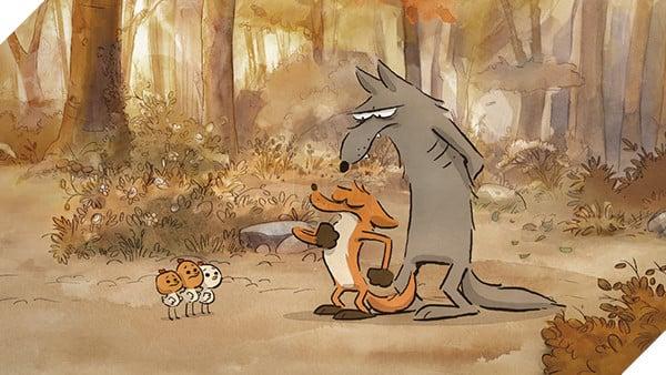 'The Big Bad Fox & Other Tales': Sẽ ra sao khi con cáo làm mẹ... con gà? bigbadfox e