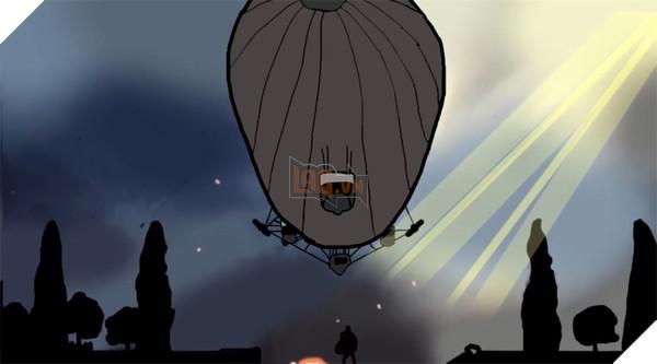 Hình ảnh khinh khí cầu hoành tráng của Battlefield 1 nay đã ... thành thế này đây