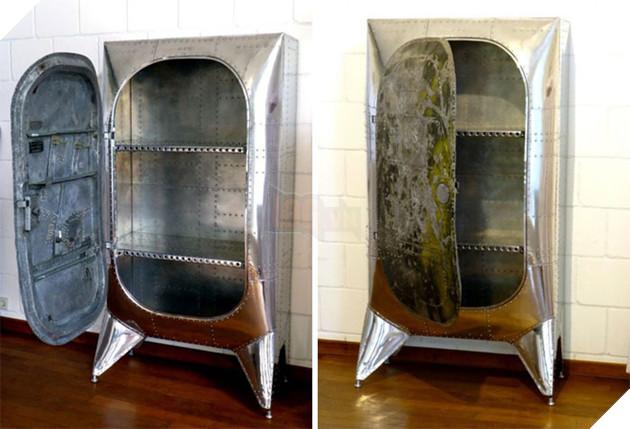 Chiêm ngưỡng 20 món đồ nội thất ấn tượng được tái chế từ máy bay hỏng - Ảnh 33.