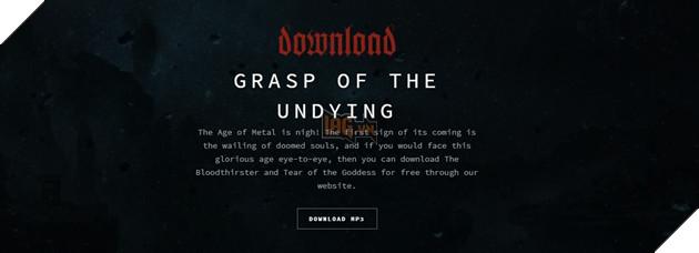 Không đâu khác chính là trang giới thiệu album Pentakill thứ 2: Grasp of  the Undying (tạm dịch: Bàn tay tử thần)