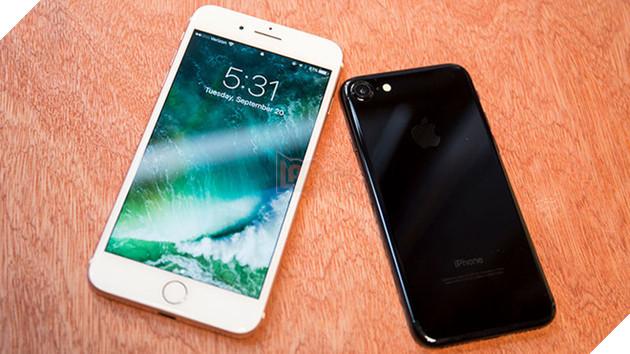 Chiếc iPhone 7 sử dụng màn hình LCD