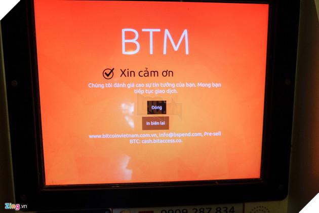 Phía công ty cho biết hiệu quả kinh tế của máy BTM không cao nhưng từ chối tiết lộ con số cụ thể. Theo thông tin trên website, công ty TNHH Bitcoin Việt Nam có giấy phép kinh doanh số 0312584713, hoạt động từ năm 2013.