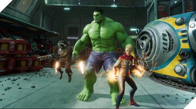 Marvel Powers United, tựa game sẽ biến giấc mơ siêu anh hùng của mọi game thủ trở thành hiện thực