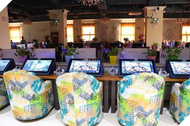 Độc đáo quán Net dành riêng cho người chơi game di động tại Trung Quốc
