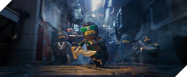 The Lego Ninja Movie và những pha hành động gây cấn đến nghẹt thở