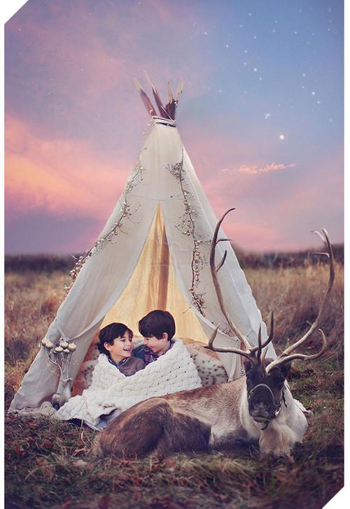 Bộ ảnh tình bạn đẹp tuyệt vời của em bé và các loài động vật - Ảnh 19.