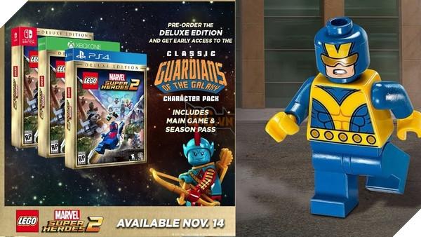 Đặt mua game LEGO Marvel Super Heroes Deluxe Edition để nhận gói nhân vật độc quyền