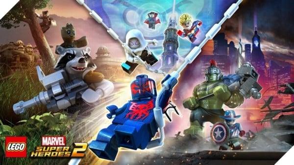 Lego Marvel Super Heroes 2 bao gồm rất nhiều nhân vật của Marvel