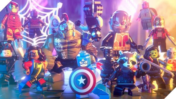 LEGO Marvel Super Heroes 2 sử dụng các bộ giáp và trang phục từ những bộ phim sắp ra mắt
