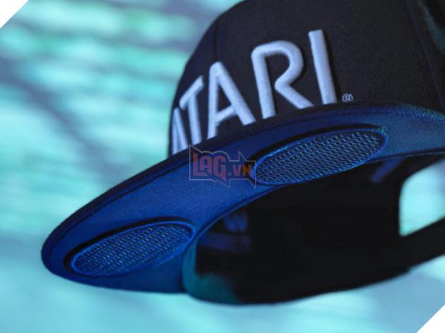 Sản phẩm mới nhất của hãng game Atari: Mũ bóng chày tích hợp loa ngoài