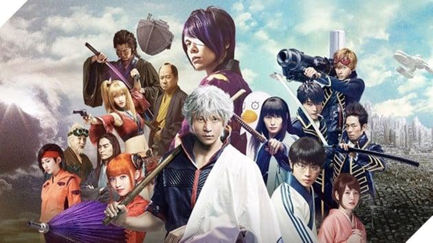 """Live-action của bộ manga """"bựa"""" nhất mọi thời đại """"Gintama"""" ra mắt tại Việt Nam 2"""